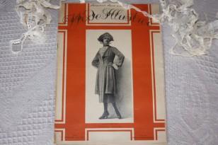 """Revue ancienne du 15/05/1921  """"La Mode Illustrée"""""""