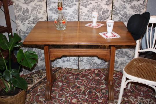 Table bistrot merisier