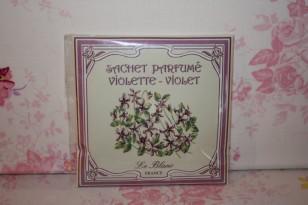"""Sachet parfumé """" VIOLETTE """" Parfum d'ambiance"""