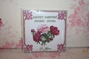 """Sachet parfumé """" PIVOINE """" Parfum d'ambiance"""